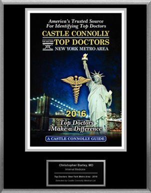 Castle Connolly's Top Doctors Of 2016, Featuring Dr. Barley