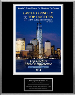 Castle Connolly's List of 2014 Top Doctors, Featuring Dr. Barley