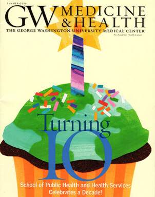 GW Magazine Featuring Dr. Christopher Barley